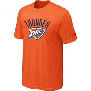 Tee-Shirt NBA Orange Oklahoma City Thunder Big & Tall Homme