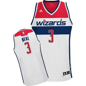 Maillot Adidas Blanc Home Swingman Washington Wizards - Bradley Beal #3 - Homme