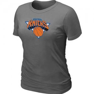 Tee-Shirt Gris foncé Big & Tall New York Knicks - Femme