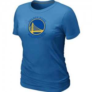Tee-Shirt NBA Golden State Warriors Big & Tall Bleu clair - Femme