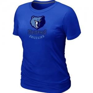 Tee-Shirt Bleu Big & Tall Memphis Grizzlies - Femme