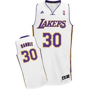 Los Angeles Lakers #30 Adidas Alternate Blanc Swingman Maillot d'équipe de NBA prix d'usine en ligne - Julius Randle pour Homme