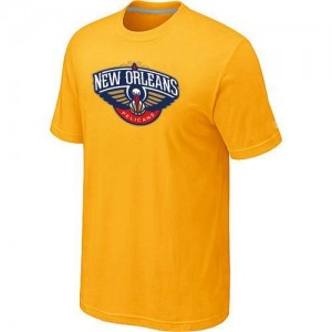 Tee-Shirt NBA New Orleans Pelicans Jaune Big & Tall - Homme