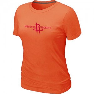 Tee-Shirt NBA Orange Houston Rockets Big & Tall Femme
