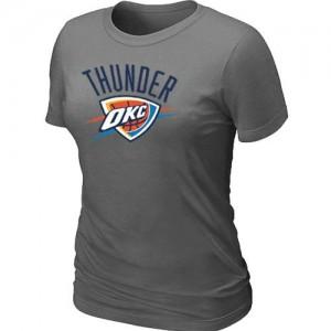 Tee-Shirt NBA Gris foncé Oklahoma City Thunder Big & Tall Femme