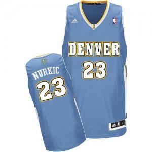 Maillot NBA Swingman Jusuf Nurkic #23 Denver Nuggets Road Bleu clair - Homme
