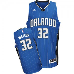 Orlando Magic #32 Adidas Road Bleu royal Swingman Maillot d'équipe de NBA 100% authentique - C.J. Watson pour Homme