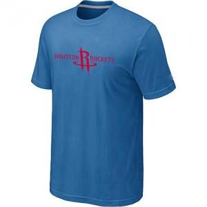 Tee-Shirt NBA Bleu clair Houston Rockets Big & Tall Homme