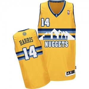Maillot Authentic Denver Nuggets NBA Alternate Or - #14 Gary Harris - Homme