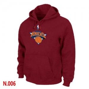 New York Knicks Rouge Sweat à capuche d'équipe de NBA prix d'usine en ligne - pour Homme