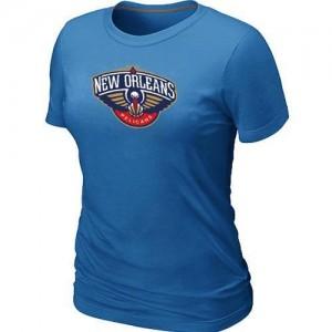 New Orleans Pelicans Big & Tall Tee-Shirt d'équipe de NBA - Bleu clair pour Femme