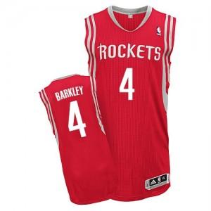 Houston Rockets #4 Adidas Road Rouge Authentic Maillot d'équipe de NBA en ligne pas chers - Charles Barkley pour Homme