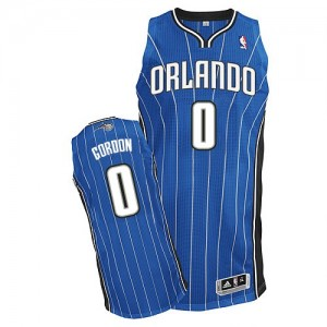 Maillot NBA Orlando Magic #0 Aaron Gordon Bleu royal Adidas Authentic Road - Homme