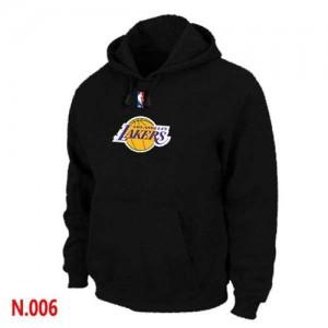 Los Angeles Lakers Noir Sweat à capuche d'équipe de NBA prix d'usine en ligne - pour Homme