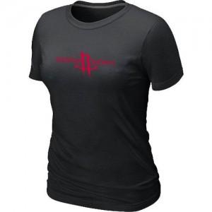 Houston Rockets Big & Tall Tee-Shirt d'équipe de NBA - Noir pour Femme