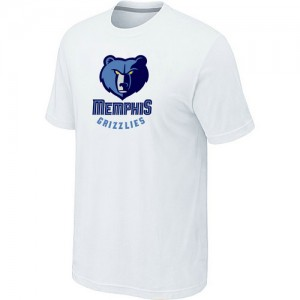 Tee-Shirt Blanc Big & Tall Memphis Grizzlies - Homme