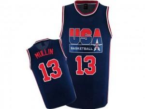 Maillot NBA Swingman Chris Mullin #13 Team USA 2012 Olympic Retro Bleu marin - Homme