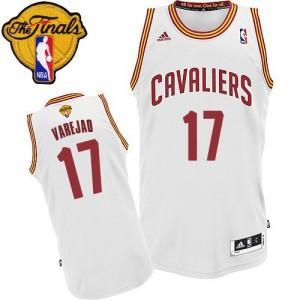 Cleveland Cavaliers Anderson Varejao #17 Home 2015 The Finals Patch Swingman Maillot d'équipe de NBA - Blanc pour Homme