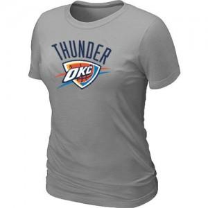 Oklahoma City Thunder Big & Tall Gris Tee-Shirt d'équipe de NBA Soldes discount - pour Femme