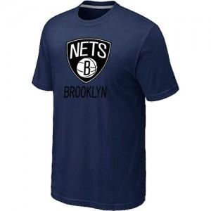 Brooklyn Nets Big & Tall Tee-Shirt d'équipe de NBA - Marine pour Homme