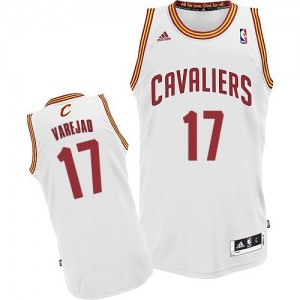 Maillot Adidas Blanc Home Swingman Cleveland Cavaliers - Anderson Varejao #17 - Homme
