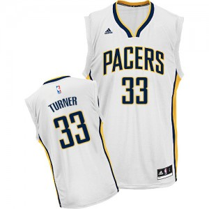 Maillot Swingman Indiana Pacers NBA Home Blanc - #33 Myles Turner - Homme