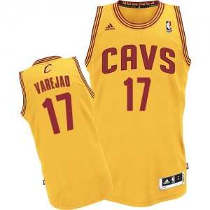 Maillot NBA Swingman Anderson Varejao #17 Cleveland Cavaliers Alternate Or - Homme