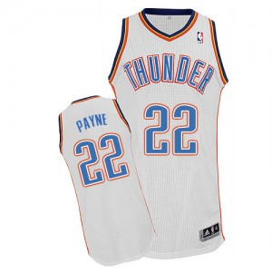 Maillot NBA Blanc Cameron Payne #22 Oklahoma City Thunder Home Authentic Homme Adidas