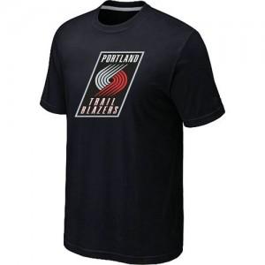Tee-Shirt NBA Noir Portland Trail Blazers Big & Tall Homme