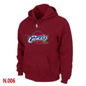 Sweat à capuche Rouge Cleveland Cavaliers - Homme