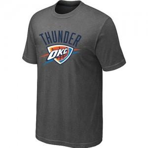 Oklahoma City Thunder Big & Tall Tee-Shirt d'équipe de NBA - Gris foncé pour Homme