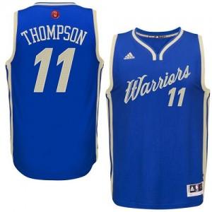 Golden State Warriors #11 Adidas 2015-16 Christmas Day Bleu royal Swingman Maillot d'équipe de NBA en ligne pas chers - Klay Thompson pour Homme