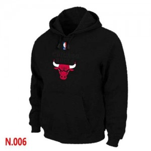 Pullover Sweat à capuche Chicago Bulls NBA Rouge - Homme