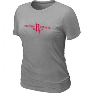 Tee-Shirt NBA Houston Rockets Big & Tall Gris - Femme