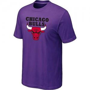 Chicago Bulls Big & Tall Violet Tee-Shirt d'équipe de NBA à vendre - pour Homme