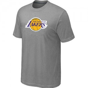 Tee-Shirt NBA Gris Los Angeles Lakers Big & Tall Homme