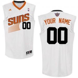 Maillot NBA Blanc Swingman Personnalisé Phoenix Suns Home Femme Adidas