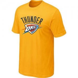 Tee-Shirt Jaune Big & Tall Oklahoma City Thunder - Homme