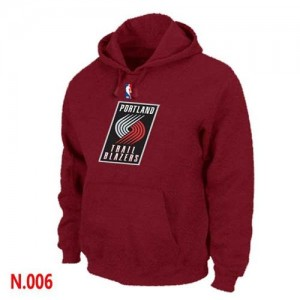 Sweat à capuche NBA Portland Trail Blazers Rouge - Homme