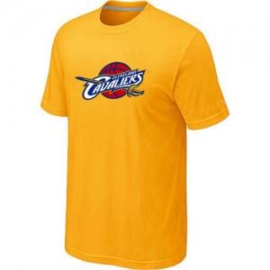 Tee-Shirt NBA Cleveland Cavaliers Jaune Big & Tall - Homme