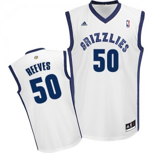 Maillot Swingman Memphis Grizzlies NBA Home Blanc - #50 Bryant Reeves - Homme