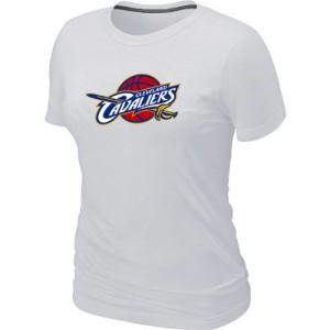 Tee-Shirt NBA Blanc Cleveland Cavaliers Big & Tall Femme