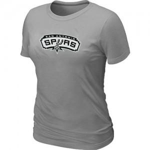 Tee-Shirt NBA Gris San Antonio Spurs Big & Tall Femme