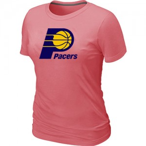 T-shirt principal de logo Indiana Pacers NBA Big & Tall Rose - Femme