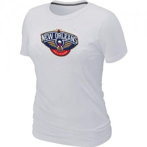 Tee-Shirt Blanc Big & Tall New Orleans Pelicans - Femme