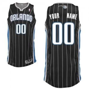 Maillot NBA Noir Authentic Personnalisé Orlando Magic Alternate Homme Adidas
