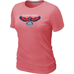 Tee-Shirt NBA Atlanta Hawks Rose Big & Tall - Femme