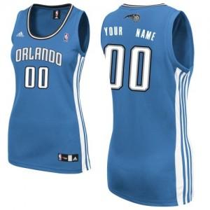 Maillot Orlando Magic NBA Road Bleu royal - Personnalisé Swingman - Femme