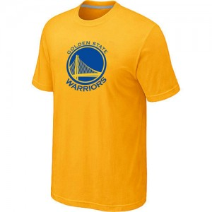 Golden State Warriors Big & Tall Tee-Shirt d'équipe de NBA - Jaune pour Homme