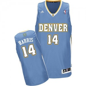 Maillot Swingman Denver Nuggets NBA Road Bleu clair - #14 Gary Harris - Homme